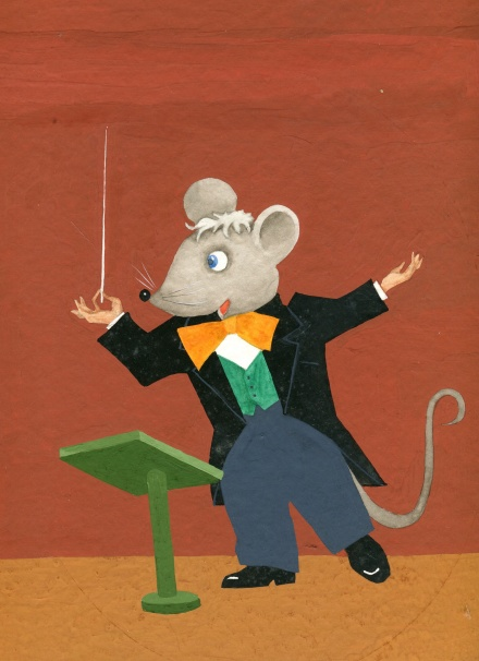 schubert the mouse